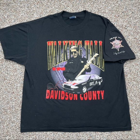 Gerald Hege Davidson County NC Sheriff t-shirt XL